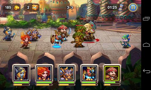 Heroes Clash Apk Data