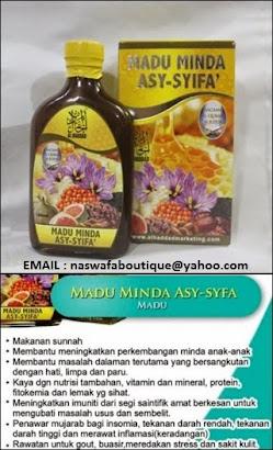 ORDER : MADU MINDA ASY SYIFA