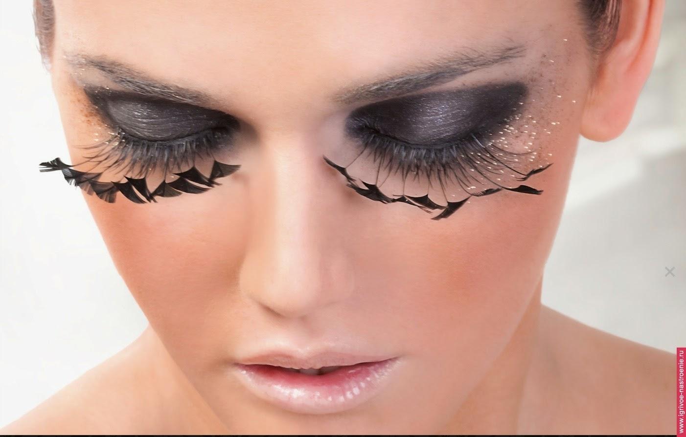 Как снимают макияж с нарощенными ресницами