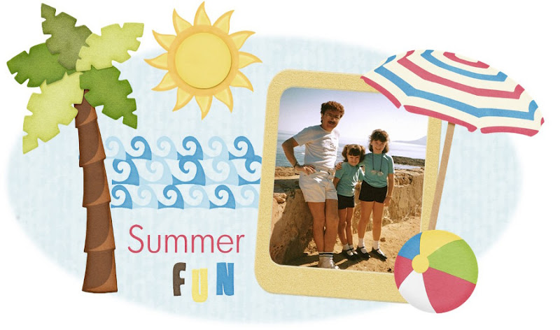 Scrapbooking digital playa