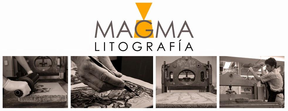 MAGMA / Estudio litográfico