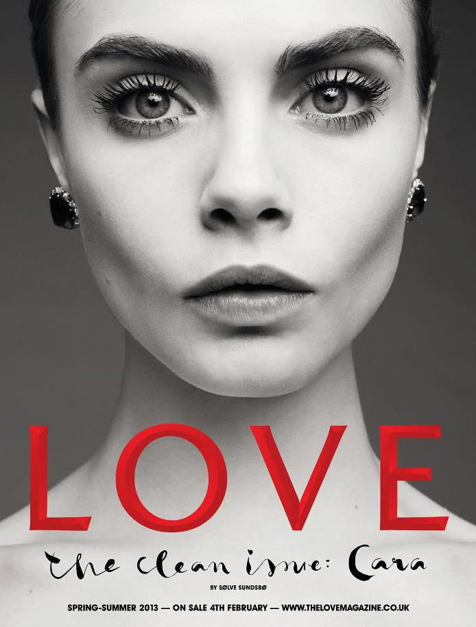 Cara Delevingne Love Magazine