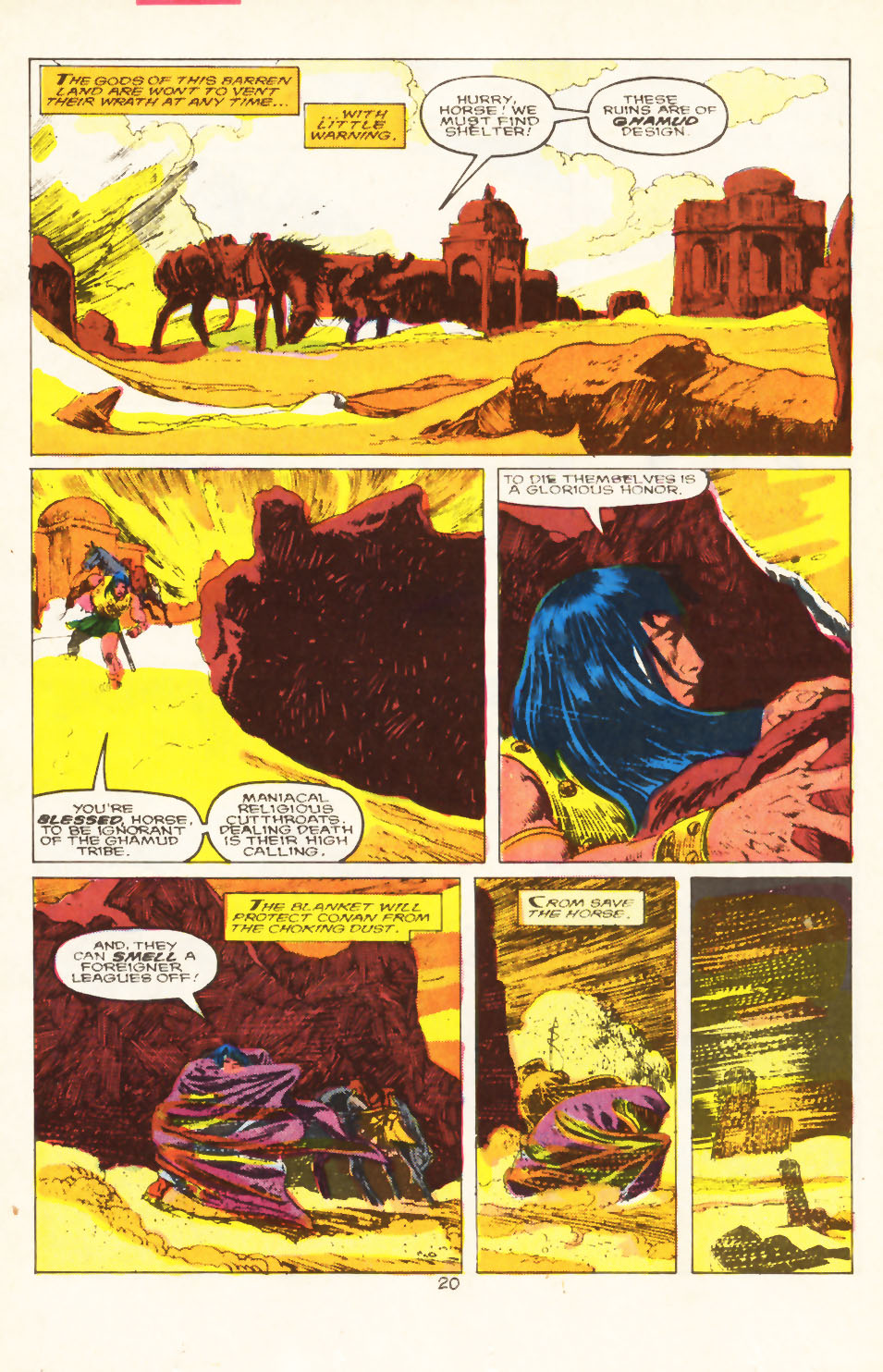 Conan the Barbarian (1970) Issue #211 #223 - English 17