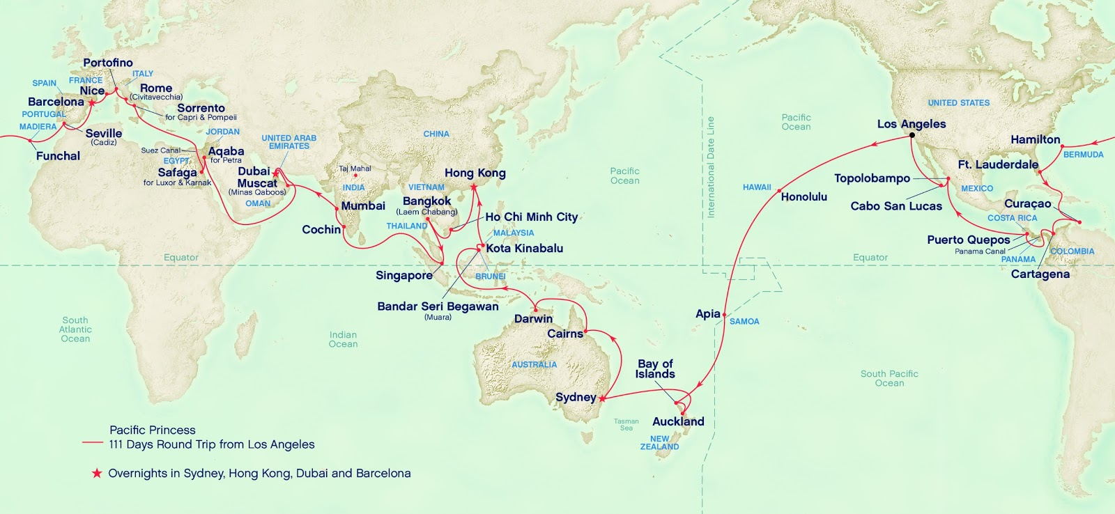 World cruise 2015 world cruise 2015 map for Cruise around the world