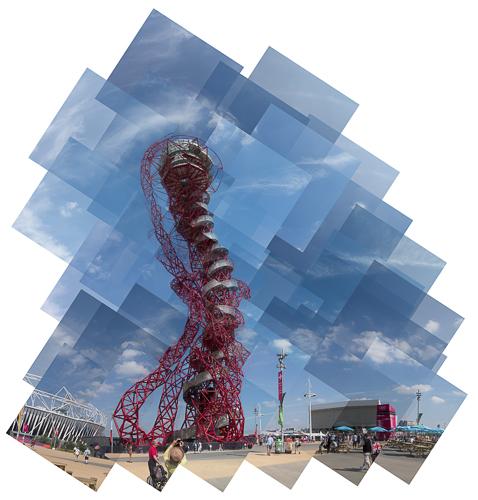 Orbit Panograph, Queen Elizabeth Olympic Park, 2012 © Graham Dew
