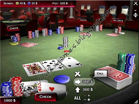 texas holdem poker software