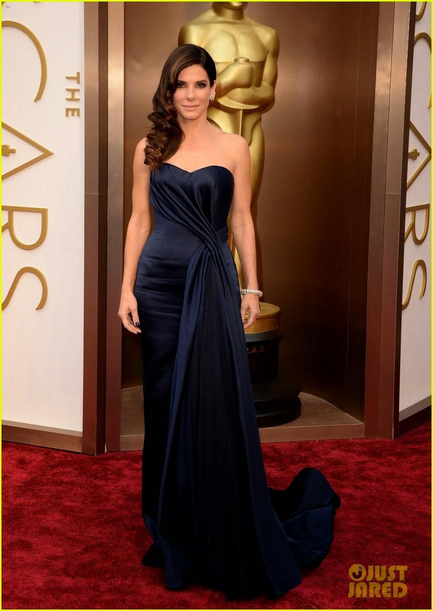 Celeb Diary: Sandra Bullock at the 2014 Academy Awards