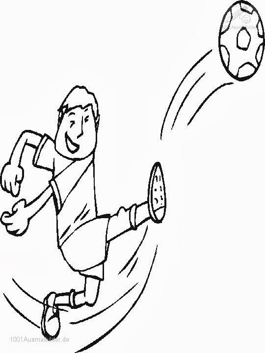 Ausmalbilder Fußball Malvorlagen - Malvorlagen gratis - Malvorlagen Gratis Fußball