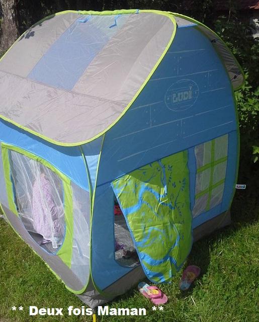 cabane enfant spacieuse