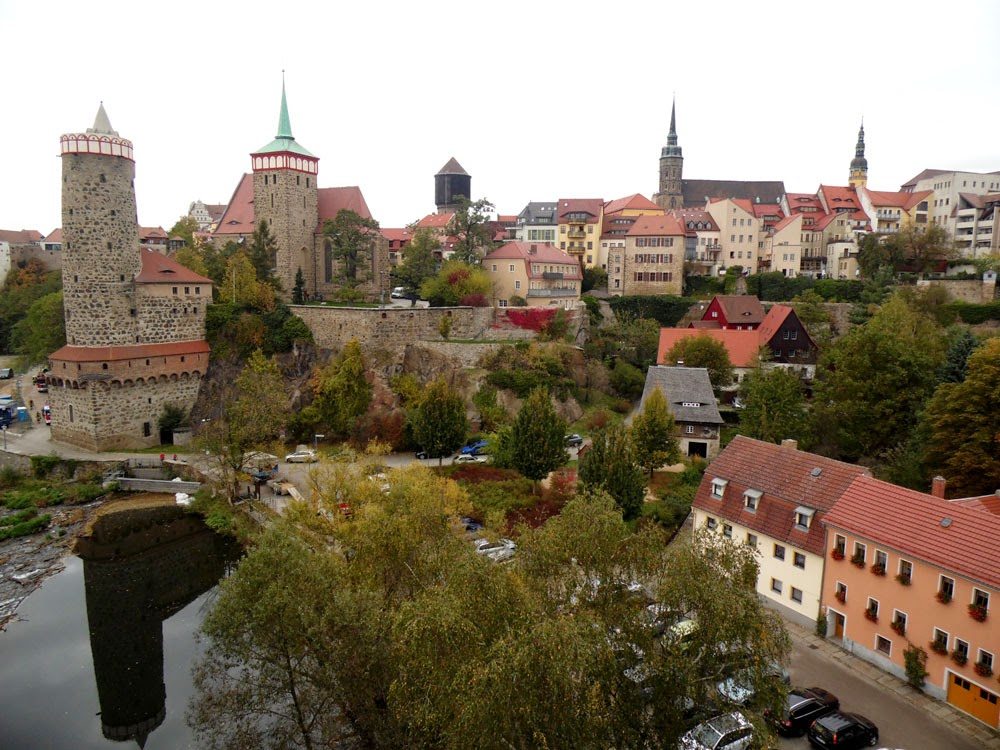 Bautzen and its skyline of mediaeval towers