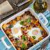 Jajka zapiekane ze śródziemnomorskimi warzywami