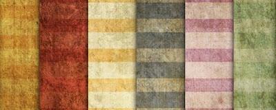 Grungy Summer Stripes - Vintage Retro Grunge