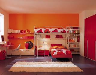 desain kamar tidur anak modern