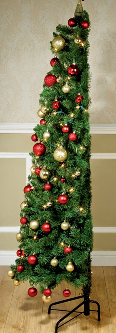 Green Corner Christmas Tree