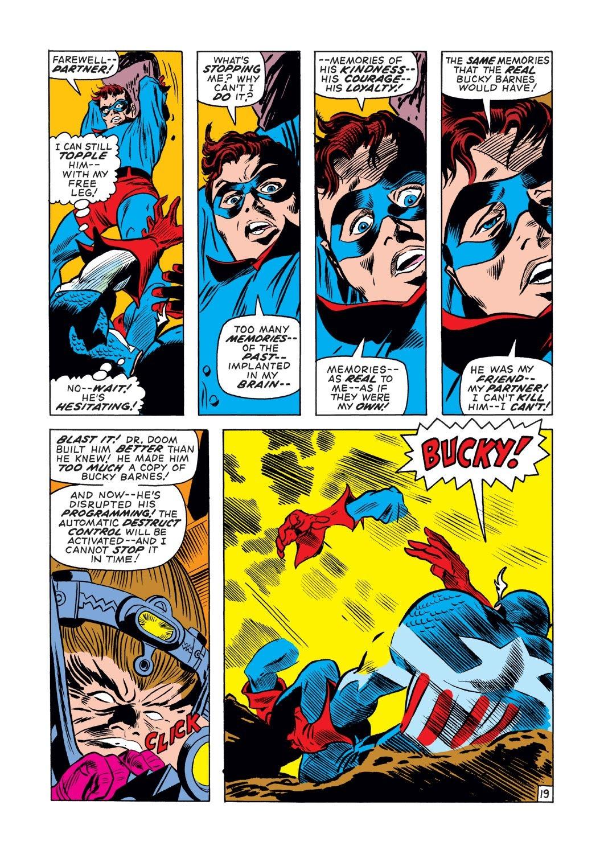 Captain America (1968) Issue #132 #46 - English 19