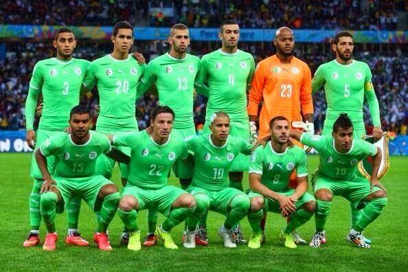 ترتيب المنتخب الوطني الجزائري في كأس العالم 2014 بالبرازيل