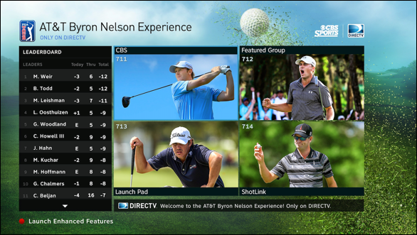 american golfer  directv offers extended coverage of at u0026t