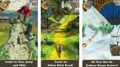 Temple run oz, Endless running game