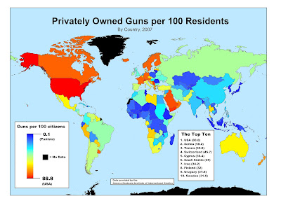 private gun ownership map