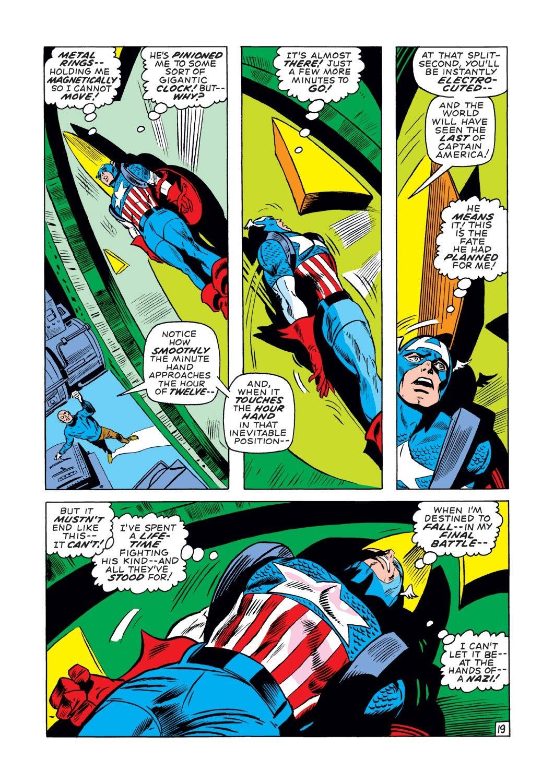 Captain America (1968) Issue #131 #45 - English 19