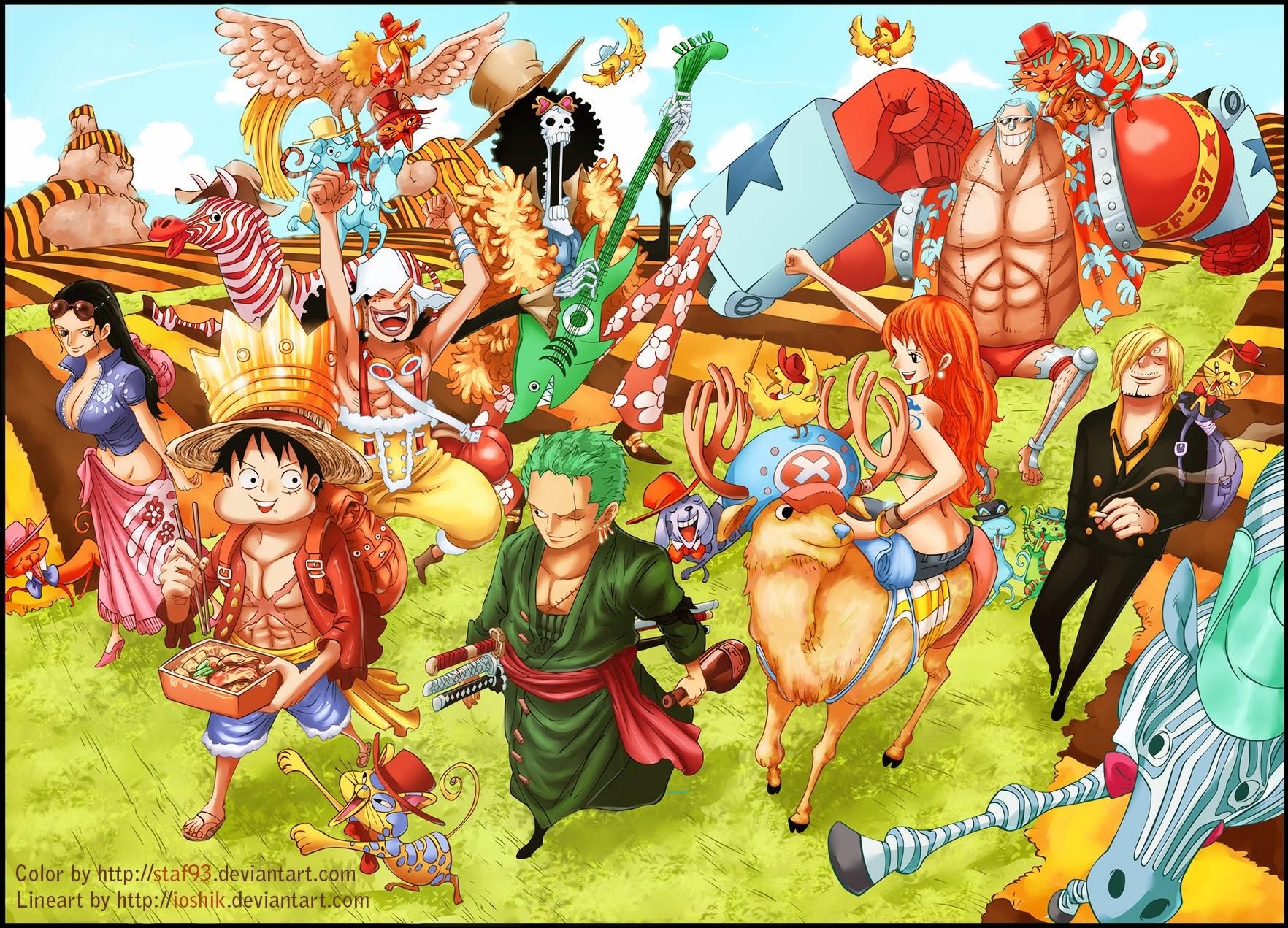 One Piece Chapter 733: Ước nguyện của anh lính chì 022