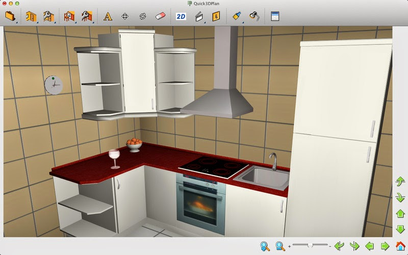 Dise o de cocinas 3d quick plan mega descargas for Software diseno cocinas 3d gratis
