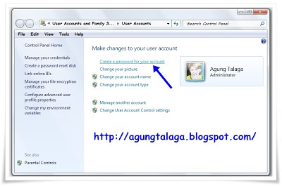 Cara Membuat Password Login User Pada Windows 7