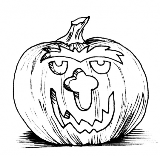 6 Picture of Halloween Pumpkin Coloring Pages for Kids >> Disney ...