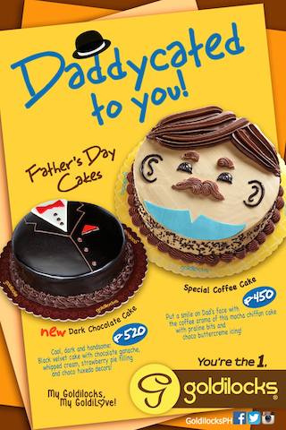 Goldilocks Father's Day Cakes
