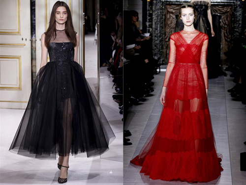 Giambattista Valli and Valentino