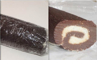 , Chocolate Recipe, Chocolate Roll Recipe, Coconut Roll Recipe, Sweet Recipe, No Bake Recipe, Easy Recipe