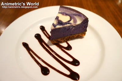 Ube Cheesecake at East Cafe