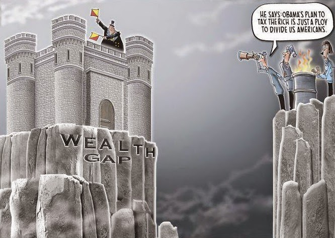 Mike Thompson: Wealth Gap.
