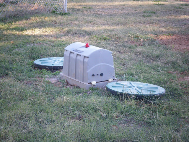 Windy Acres Diary Our Aerobic Septic System