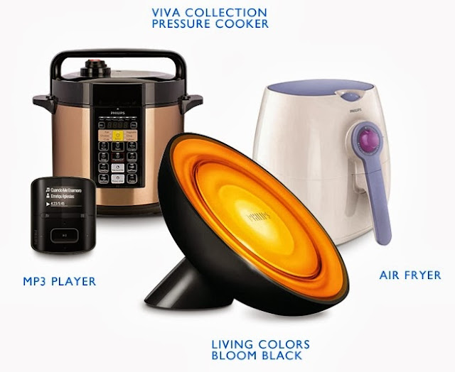 Philips, Philips Innovation That Matters, #meaningfulinnovation, prizes, Philips Viva Collection Airfryer, Philips Viva Collection ME Computerized Electric Pressure Cooker, Philips Living Colors Bloom Black, Philips RaGa MP3 Player, philips