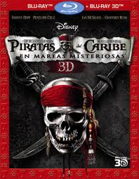 Piratas del Caribe: En mareas misteriosas 4 (2011) BRRip 3D Full HD Subtitulada