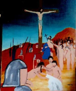 Crucifixion by Gregory Avoyan