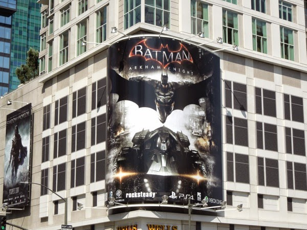 Batman Arkham Knight video game billboard