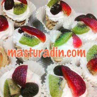 mini pavlova, resepi pavlova, meringue, safurara.com, pavlova