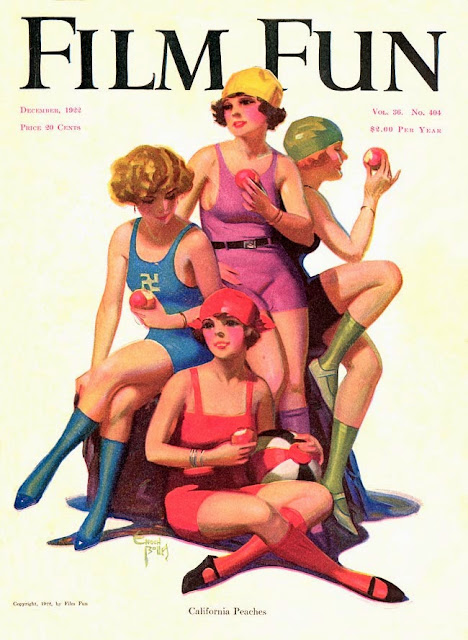 Evolution of Film Fun Covers. 1928-1945
