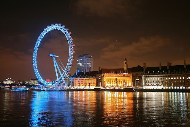 London Eye at night - London 2012, UK | Travel London Guide