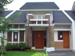 denah rumah simple