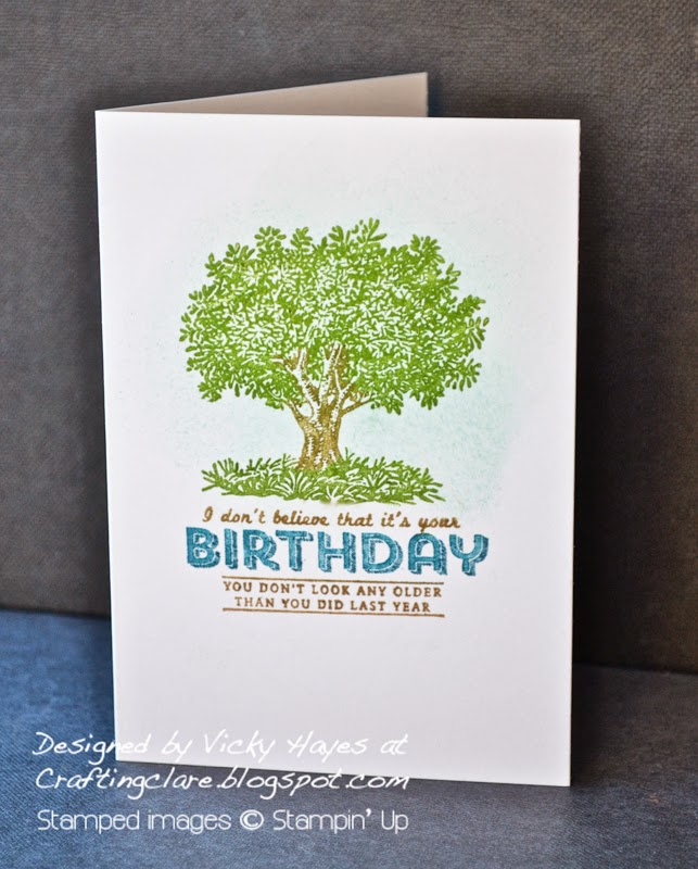 Look Up to Father stamp by Stampin' Up available to buy online from Crafting Clare's Paper Moments