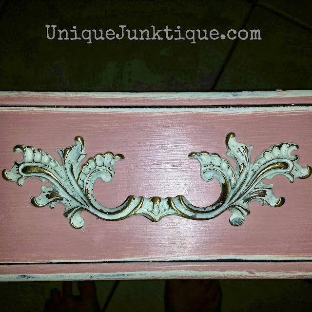 Storage Junk Drawer Painted In Annie Sloan Chalk Paints