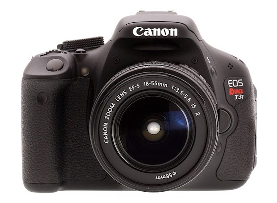 Cannon Rebel T3i camera