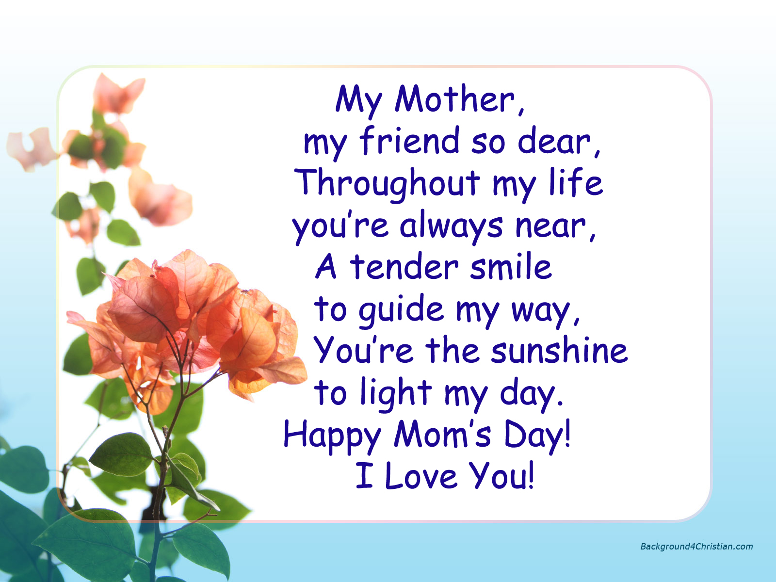Mother's Day Poems and Quotes