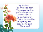 Mother's Day Quotes (happy mothers day wishes greetings wallpapers celebration love www)