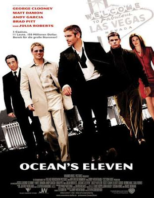 Poster Of Ocean's Eleven In Dual Audio Hindi English 300MB Compressed Small Size Pc Movie Free Download Only At exp3rto.com