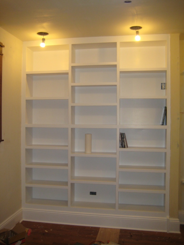 not totally done but i had to show it to you because this is the closest to my idea for the room im working on i love their comments along the way bookcase lighting ideas