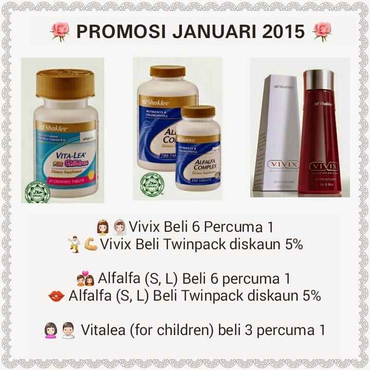 Promosi Januari 2015